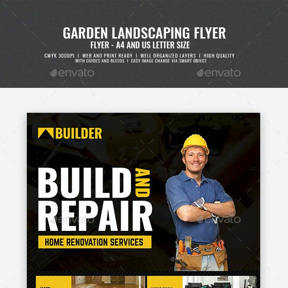 Construction and Renovation Services Flyer
