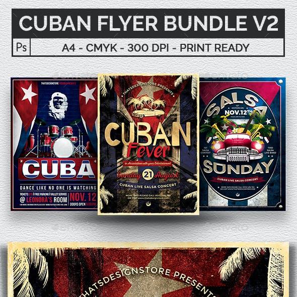 Cuban Flyer Bundle V2