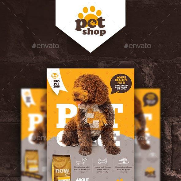 Pet Shop Poster Templates