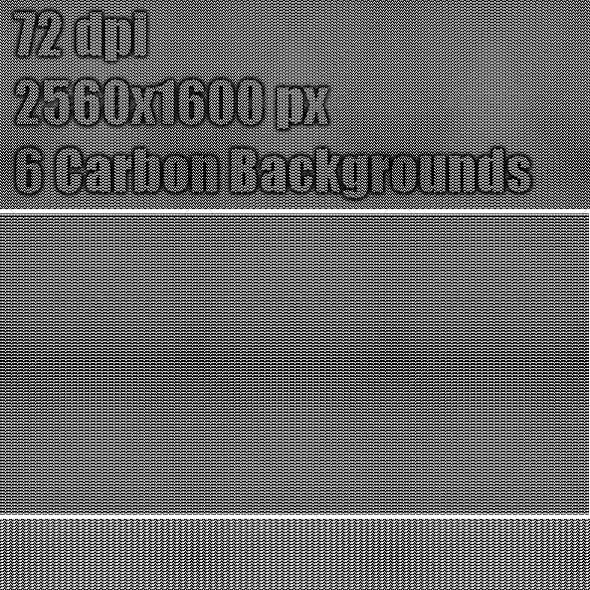 6 Carbon Web Backgrounds