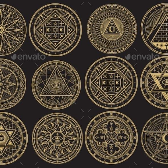 Golden Mystery Emblem Collection