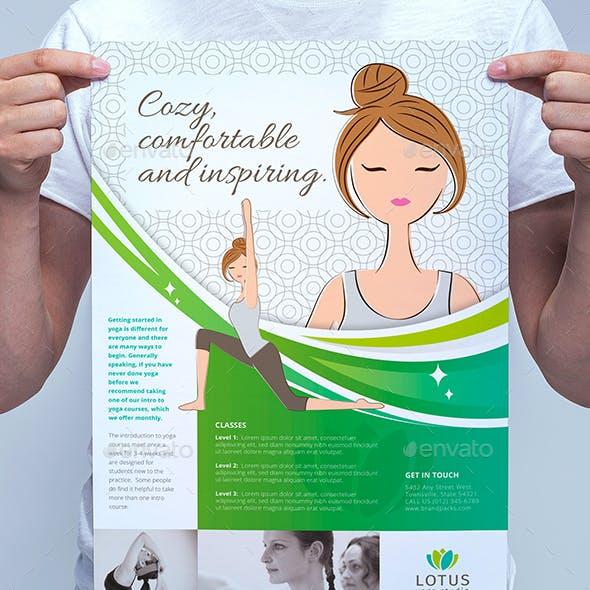 Yoga Studio Poster Template