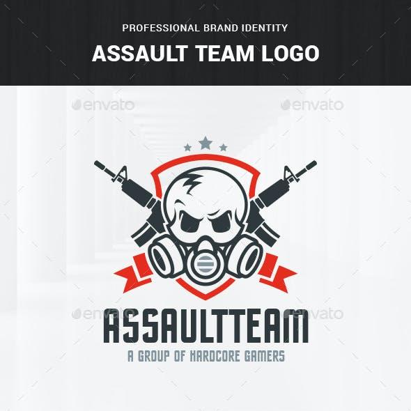 Assault Team Logo Template