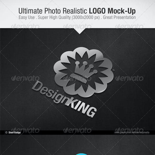 Ultimate Photo Realistic LOGO Mock-Up