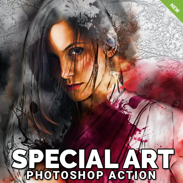 Special Art Photoshop Action