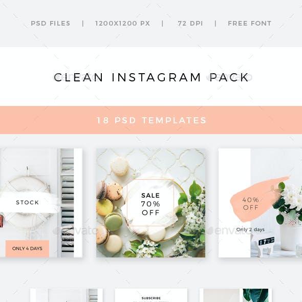 Clean Instagram Pack