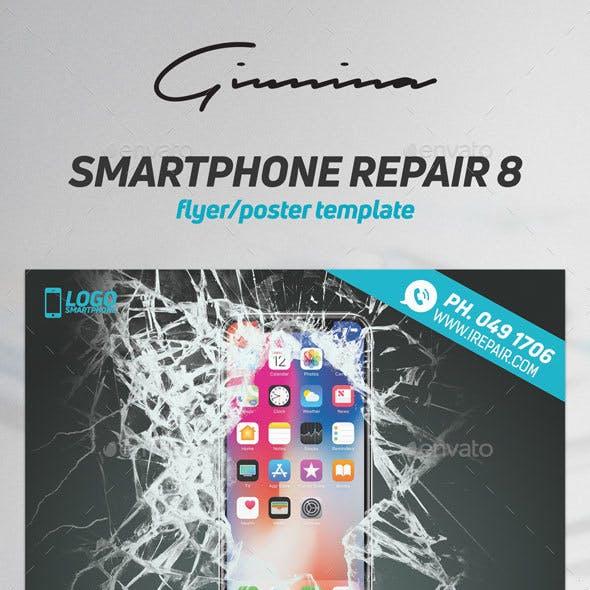 Smartphone Repair 9 Flyer/Poster