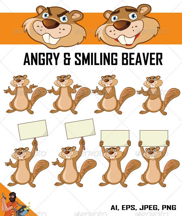 Beaver - Animals Characters