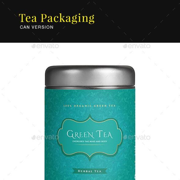 Tea Packaging Label