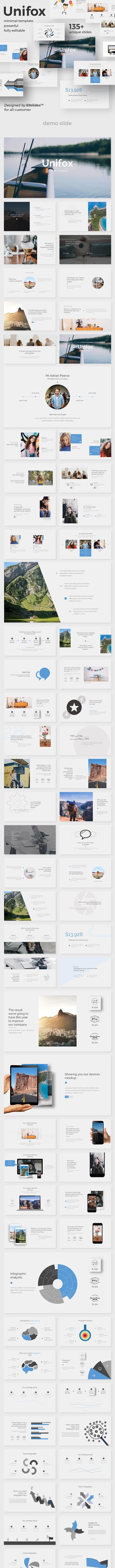 Unifox Creative Google Slide Template