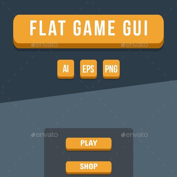 Flat Game GUI