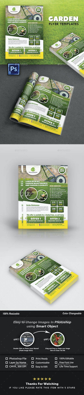 Garden Landscape Flyer Template - Commerce Flyers