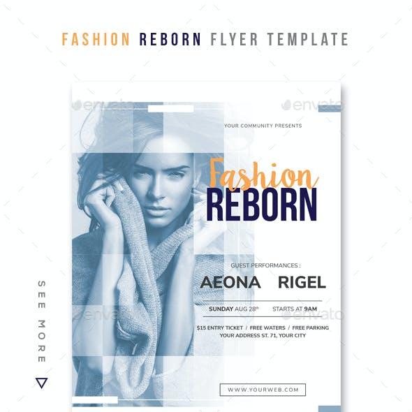 Fashion Reborn Flyer Template