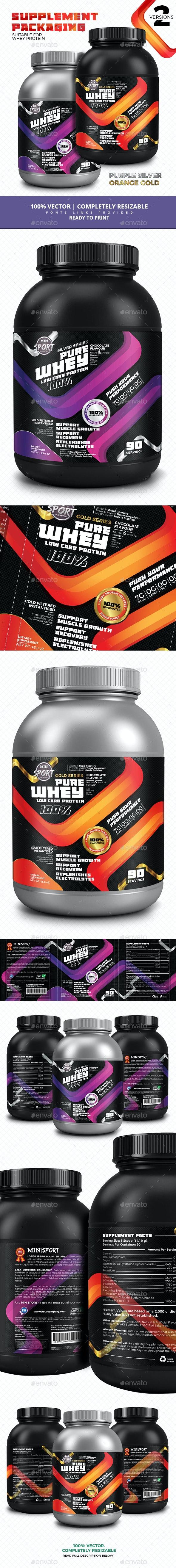 Modern Supplement Packaging