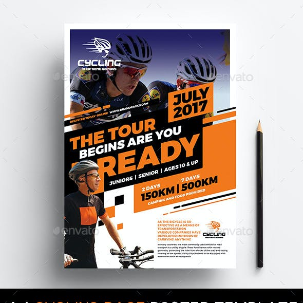 Cycling Race Poster Template