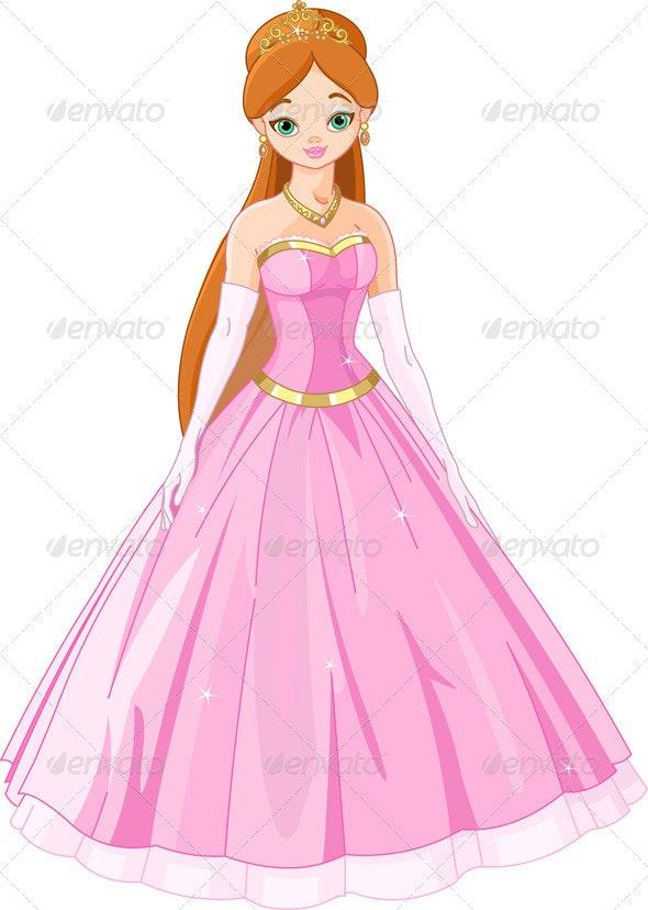 Fairytale  princess  - People Characters