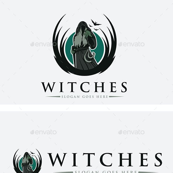 Ghost Creepy Logo Templates from GraphicRiver