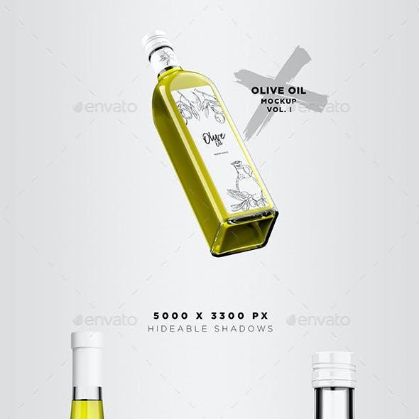 Olive Oil Mockup Pack - Vol. 1