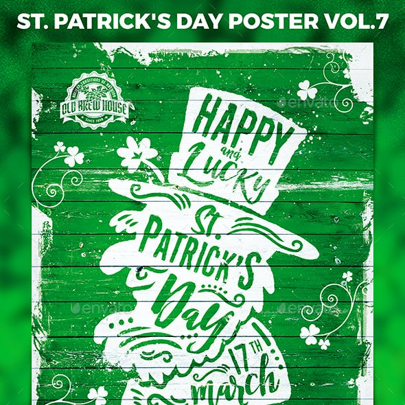 St. Patrick's Day Poster vol.7