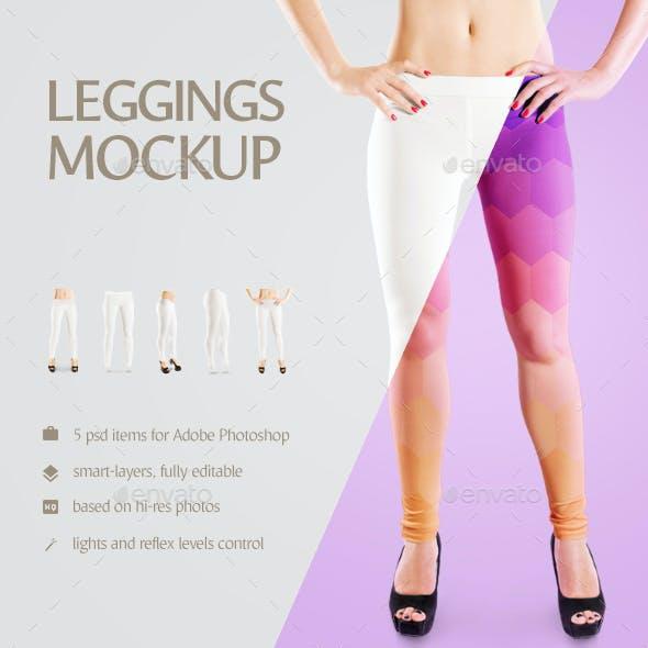 Leggings Mockup