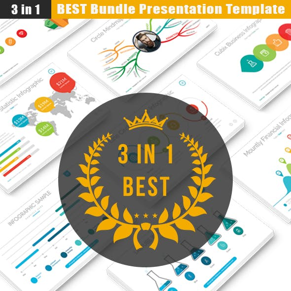 3 in 1 Bundle Powerpoint Presentation Template