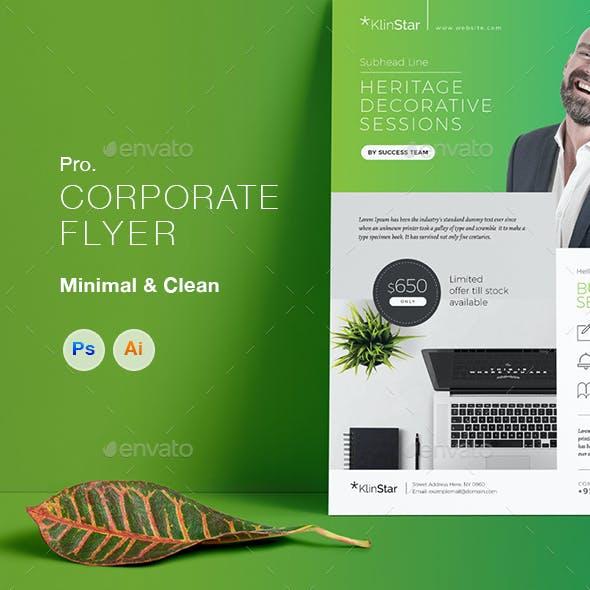 Multipurpose Corporate Business Professional Flyers