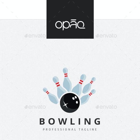 Bowling Strike Logo