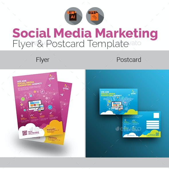 Social Media Flyer & Postcard Bundle