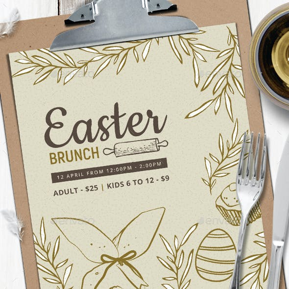 Easter Menu Vol.3