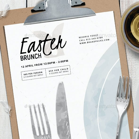 Easter Menu Vol.4