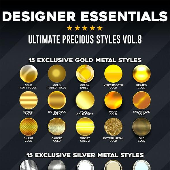Designer Essentials Ultimate Precious Styles Vol.8