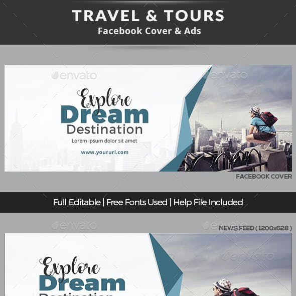 Travel Fb Cover & Ads