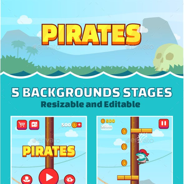 Pirate Game Assets Pack