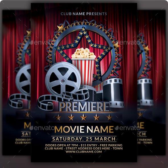 Premiere Movie Flyer