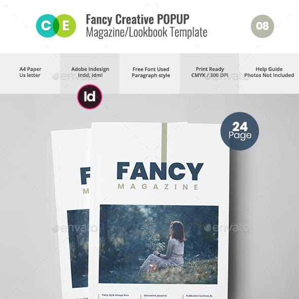 FANCY Fashion Minimal Magazine / Lookbook V08