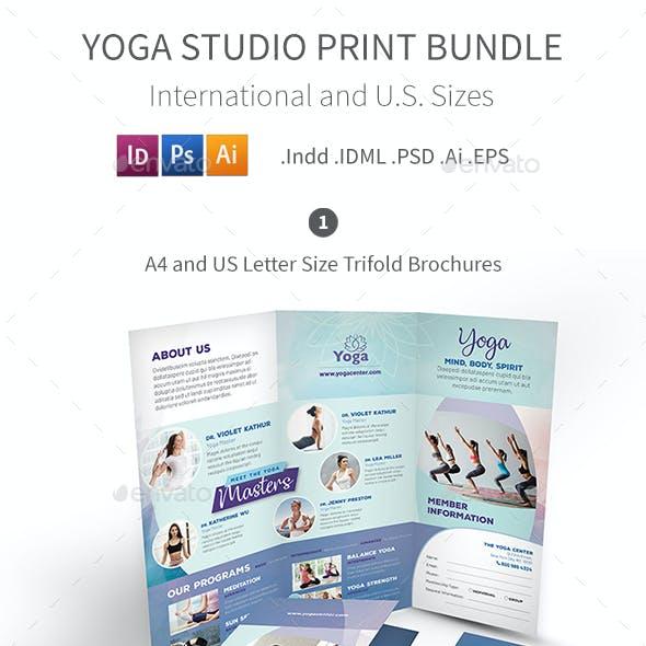 Yoga Studio Print Bundle 3