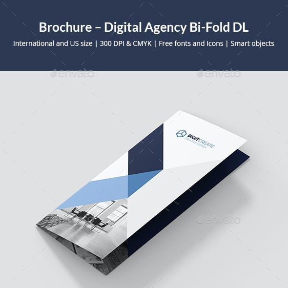 Brochure – Digital Agency Bi-Fold DL