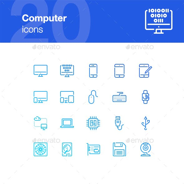 9 Best Technology Icons  for May 2019