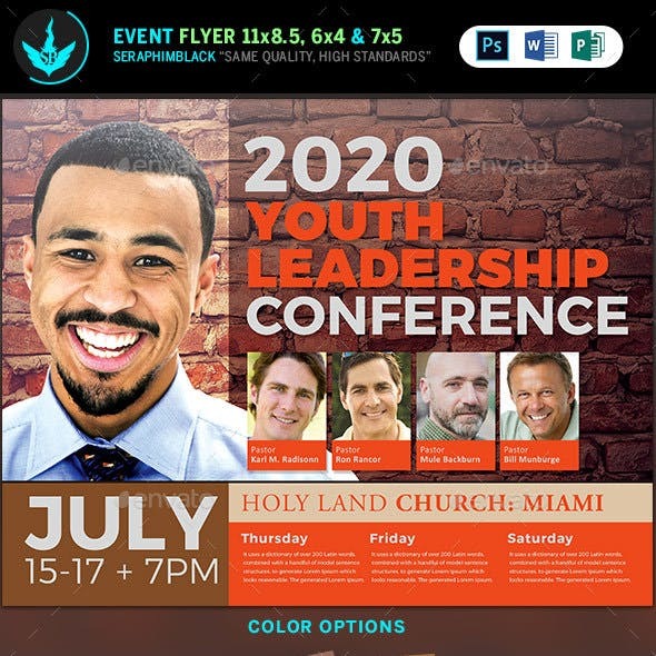 Youth Leadership Conference Flyer Template
