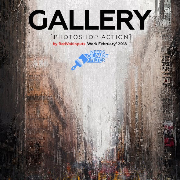 Gallery Photoshop Action