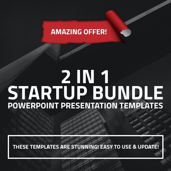 2 in 1 Startup Business PPT Bundle