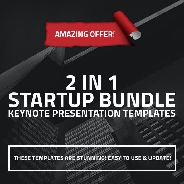 2 in 1 Startup Business Keynote Bundle