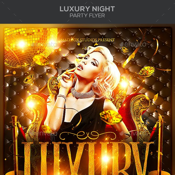 Luxury Night Party Flyer