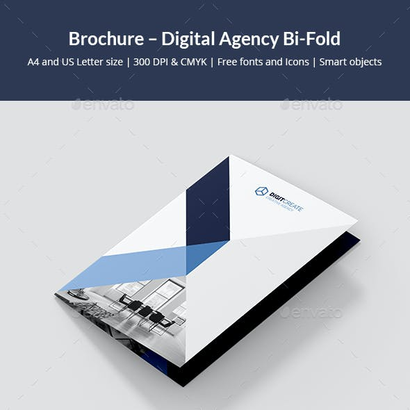 Brochure – Digital Agency Bi-Fold