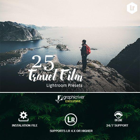 25 Travel Film Lightroom Presets
