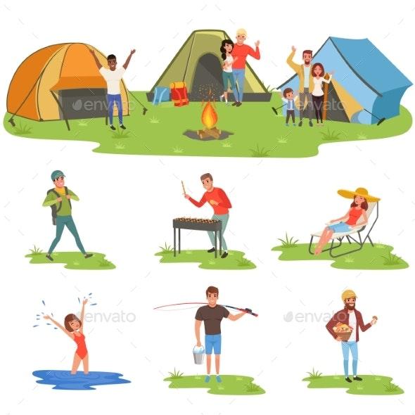 Camper People Set