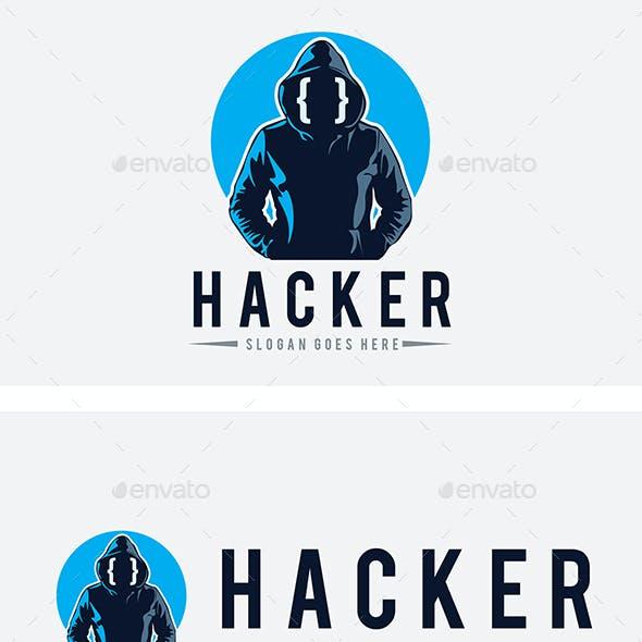 Hacker Man Logo