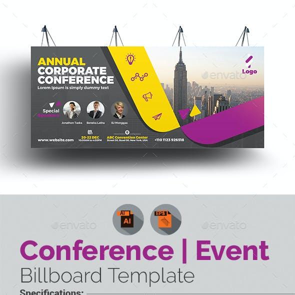 Event Summit Conference Billboard