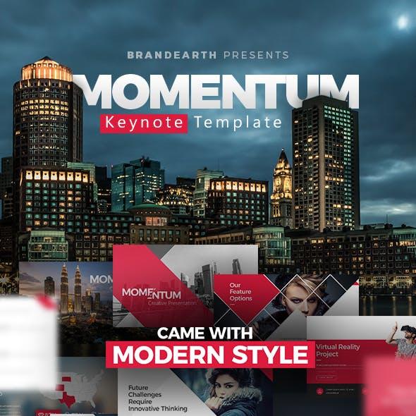 Momentum Keynote Creative Presentation