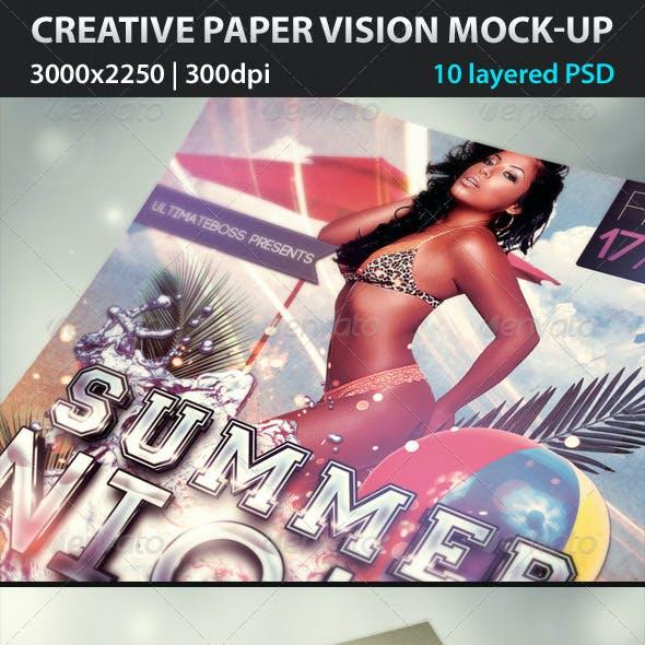 Creative Paper Vision